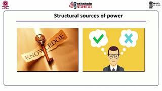 Power and politics - I