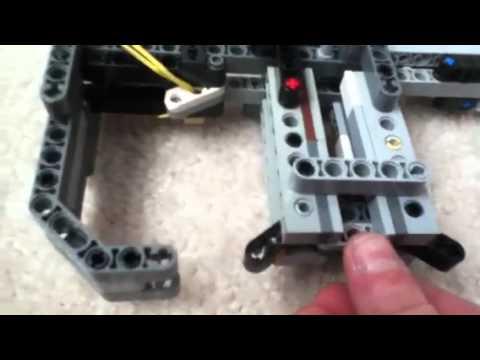 Lego Technic Gun Working Youtube