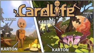 Gra w której wszystko tworzysz z KARTONU - CardLife: Cardboard Survival
