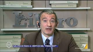 Governo, Senaldi: 'Le relazioni difficili tra Mattarella e Salvini stanno rendendo le cose ...