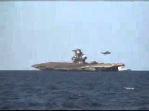 Aircraft Carrier Sinking