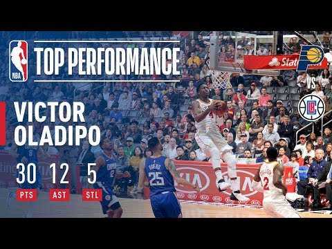 Victor Oladipo Puts Up A Season High 12 Assists In The Pacers Dub