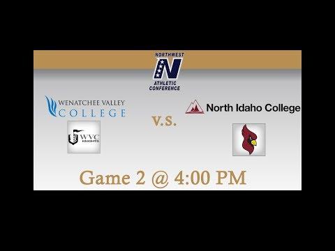 Wenatchee Valley College vs North Idaho College: Game 2