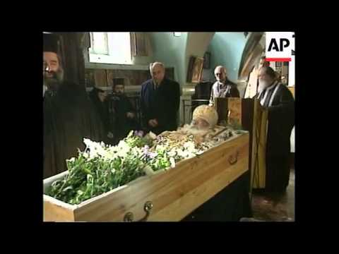 JERUSALEM: LAST RESPECTS PAID TO DIODORUS THE 1ST