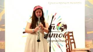 """Гокова Карина - Колыбельная из оперы """"Порги и бес"""" Дж. Гершвин"""