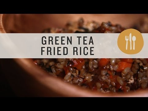 Superfoods - Green Tea Fried Rice