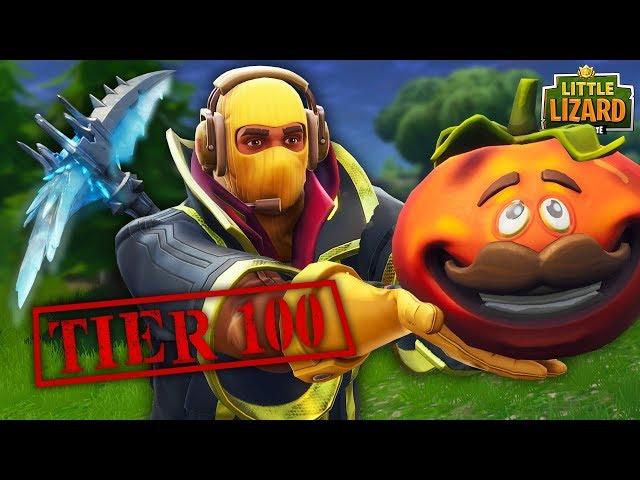 BECOMING A TIER 100 SKIN!!! - Fortnite Short Film