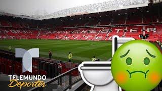 El asqueroso problema del estadio del Manchester United | Premier league | Telemundo Deportes