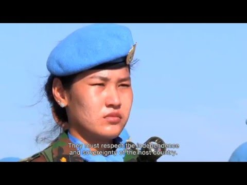 Peacekeeping 10 Years Of Cambodian Troops