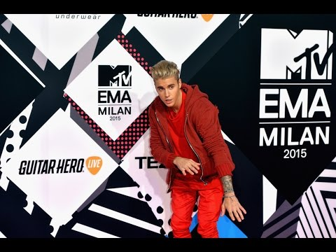 justin bieber MTV EMA Red Carpet MILAN!! 2015 ♛
