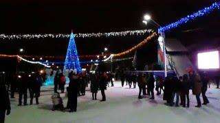 видео Новый Год в Барнауле
