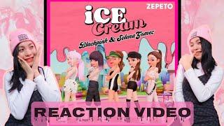 Blackpink x selena gomez - 'ice cream' dance performance video (in zepeto) shairie's reaction