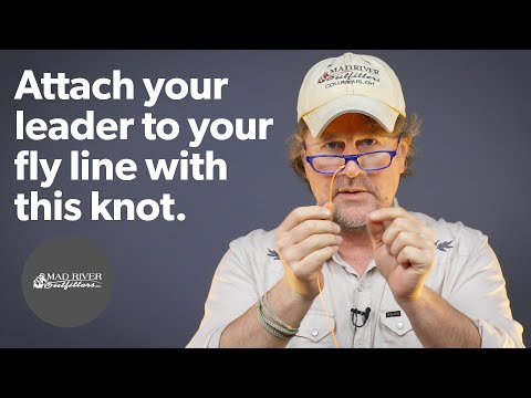 Nail Knot Tutorial - Attach Your Leader To Your Fly Line With This Method!