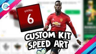 Roblox | Pogba's Man Utd. Jersey - Speed Art!