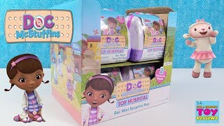 Doc McStuffins Disney Junior Toy Hospital Surprise Blind Bag Toy Review | PSToyReviews