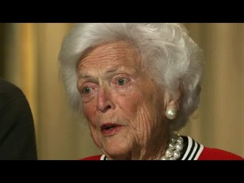 Barbara Bush: Im sick of Donald Trump