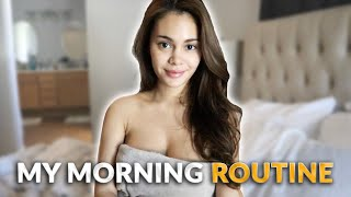 MORNING ROUTINE + GIVEAWAY WINNERS | IVANA ALAWI