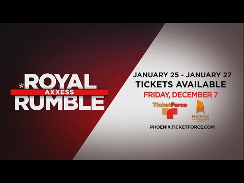 Royal Rumble Axxess Comes to Phoenix!