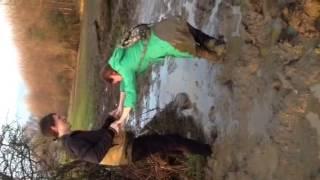 Repeat youtube video Liz falls in mud