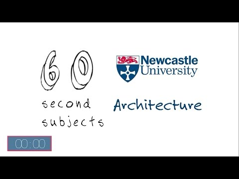 Architecture Degrees at Newcastle University - 60 Second Subject Guide