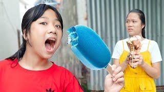 Ba Cha Con Ở Nhà Xem Tivi ❤ Tiết Kiệm Tiền Mua Đồ Dùng Học Tập - Trang Vlog