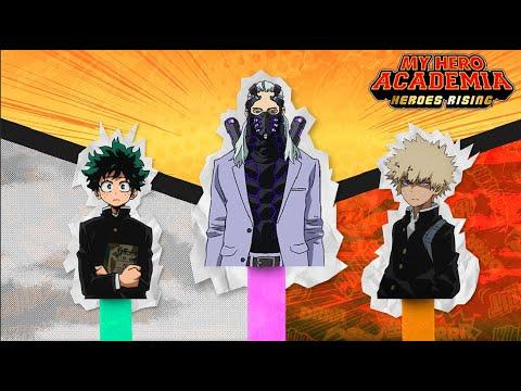 How Deku & Bakugo MEET NINE Before My Hero Academia Heroes Rising Even Starts! Deku & Bakugo: Rising