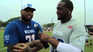 Pro Bowl Practice with Gerald McCoy