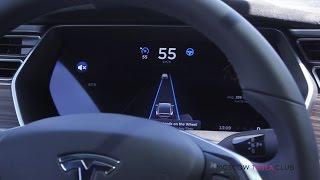 Автопилот первого электрокроссовера Тесла Модел Икс в России г. Москва Tesla Model X Autopilot(, 2016-06-01T05:13:26.000Z)