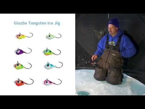 New for 2018! Custom Jigs & Spins' Glazba Tungsten Ice Jig