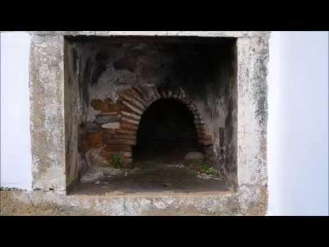 Старинная греческая печь