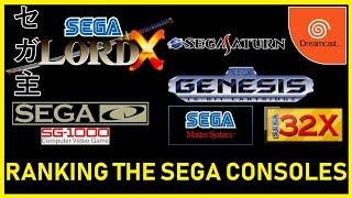 Ranking the Sega Consoles