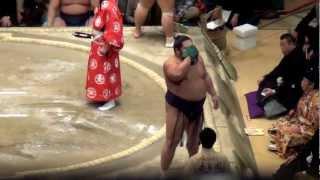 大相撲初場所14日目の千代大龍の相撲です。 この場所の千代大龍は西前頭...