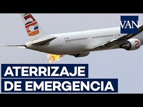 Así se incendió el motor número 1 del vuelo Barcelona-Tel Aviv