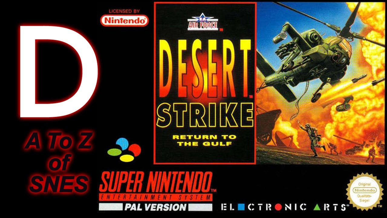 A To Z Of Snes Desert Strike Youtube