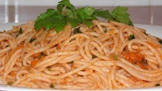 Паста, спагетти или просто длинные макароны. (Pasta)