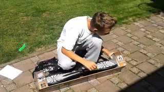 Unboxing waveboard G2 + testing