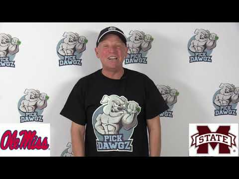 Mississippi State vs Ole Miss 11/28/19 Free College Football Pick and Prediction Week 14 CFB Tips
