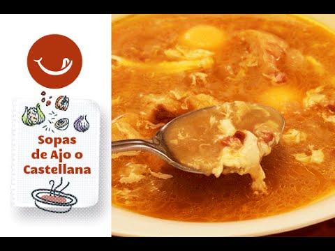 Sopas de ajo o sopa castellana youtube - Sopa castellana youtube ...