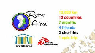 Video Rothar Africa - Cycling Cairo to Cape Town for Charity download MP3, 3GP, MP4, WEBM, AVI, FLV November 2018