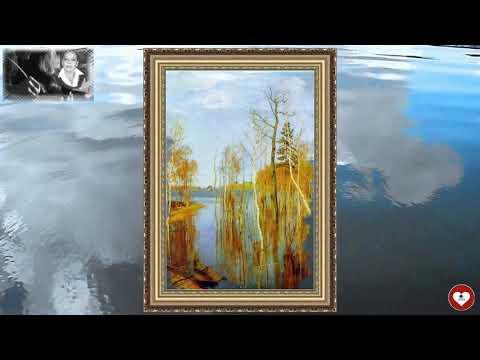 """Стихотворение ТаГоры """"Весна. Большая вода"""" по картине И.И. Левитана, читает автор.Видео от ТаГоры"""