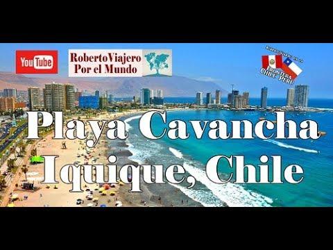 Playa Cavancha, Iquique Norte de Chile
