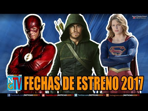 FECHAS DE ESTRENO PARA FLASH  / ARROW / SUPERGIRL  | Noticia