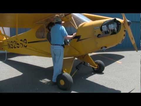 Learning to Fly in a Piper Cub