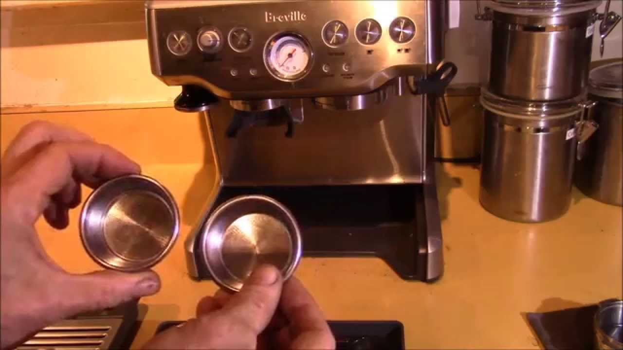 Breville Bes870xl Barista Express Filters Explained