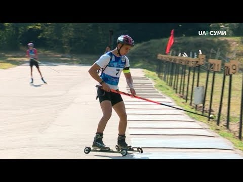 UA:СУМИ: Всеукраїнські змагання з біатлону пам'яті Романа Звонкова почалися в Токарях