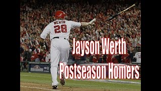 Jayson Werth Postseason Home Runs