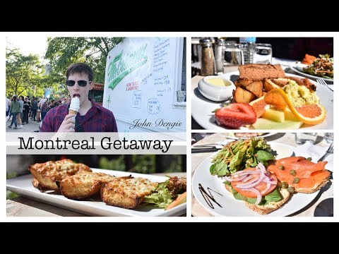 Montreal Getaway + Vlog | John Dengis