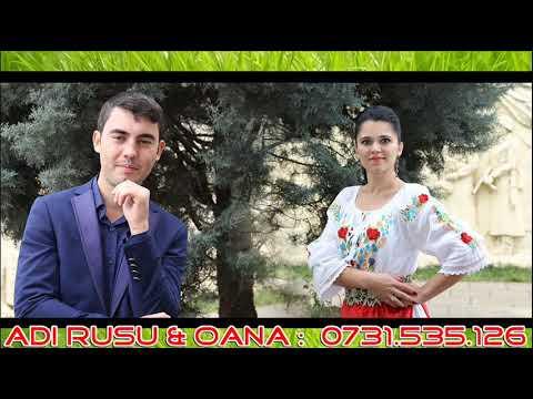 Adi Rusu & Oana - BOB DE ROUA colaj hore program nou