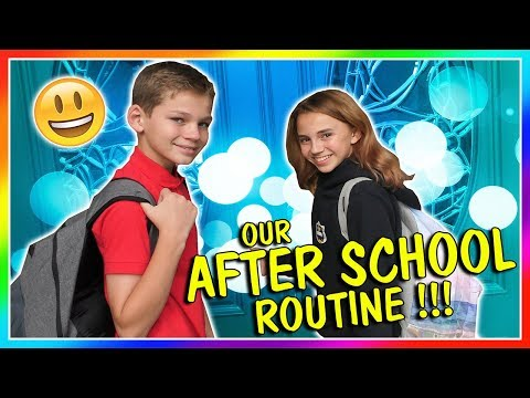 BUSY AFTER SCHOOL ROUTINE | We Are The Davises