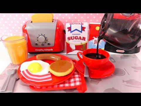 Jeu D'Imitation Cuisine Jouet Petit Déjeuner Breakfast Playset
